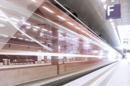 Spoorweg- en metrostations