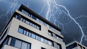 Overspanningsbeveiliging voor tertiaire gebouwen