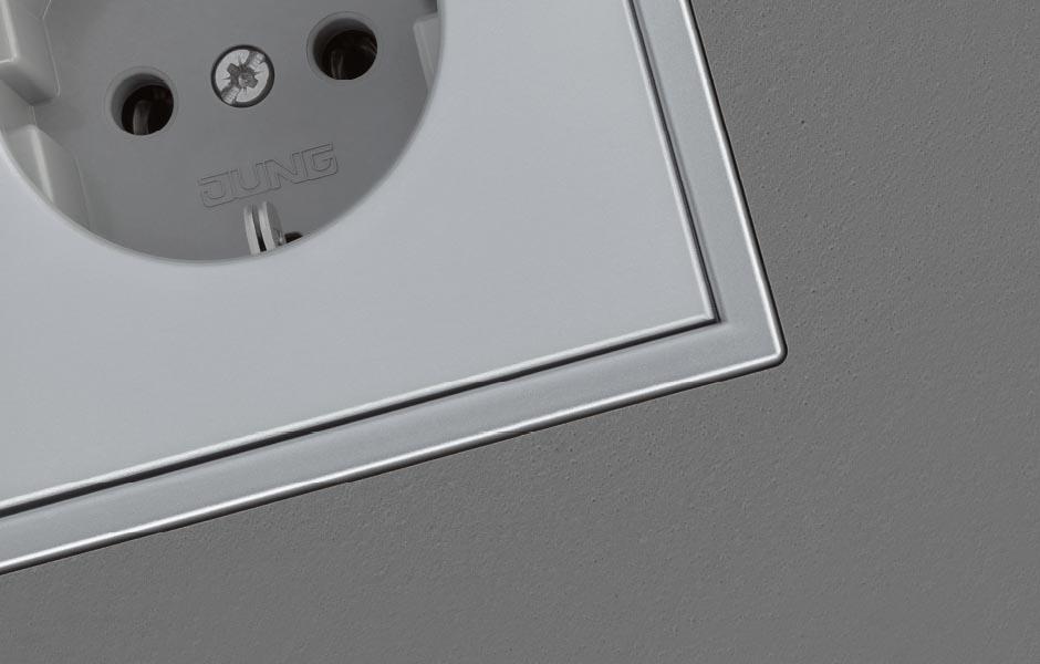 jung ls zero nieuwe uitvoering stagobel. Black Bedroom Furniture Sets. Home Design Ideas